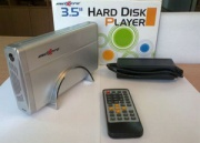 "HDD медиа-проигрыватель Maxxtro MP-433  3,5"" Media Player (DVD,MPEG4,JPEG)"
